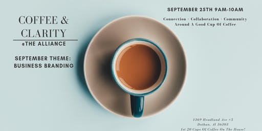 Coffee and Clarity-September Theme-Branding