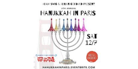 Hanukkah in Paris at the Hotel Kabuki tickets
