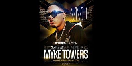 Myke Towers Live In Concert Inside Rumba Room Live tickets