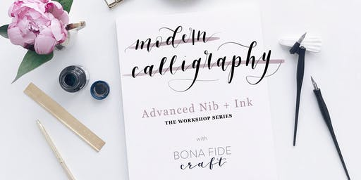 Modern Calligraphy Workshop: Nib + Ink
