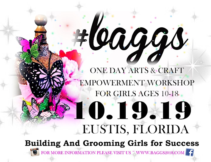 #BAGGS 2019 ARTS AND CRAFT WORKSHOP FOR GIRLS 10-18! image