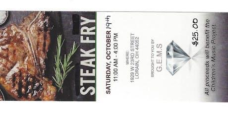 GEMS Steak Fry tickets