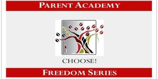 FREEDOM! Parent Academy 2019-2020