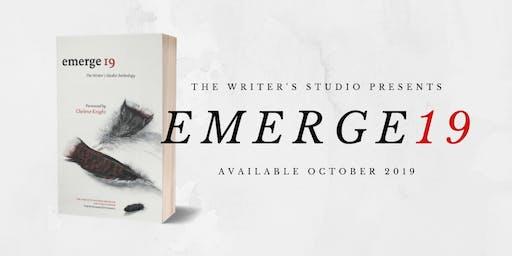 Emerge19 Anthology Launch Party