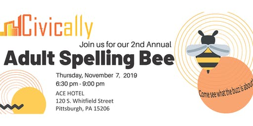 Civically's 2nd Annual Adult Spelling Bee!