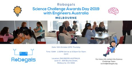 Science Challenge Awards Ceremony, with Engineers Australia tickets