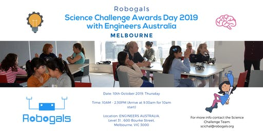 Science Challenge Awards Ceremony, with Engineers Australia