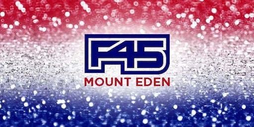 F45 MOUNT EDEN **END OF 8-WEEK CHALLENGE #23 CELEBRATION!**