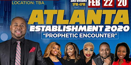 Prophetic Establishment 2020 ATL tickets