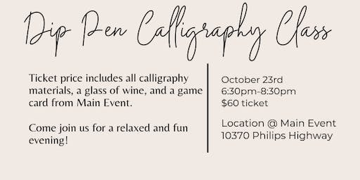 Main Event Calligraphy Class