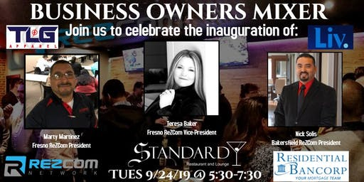 Business Owners Mixer - Fresno