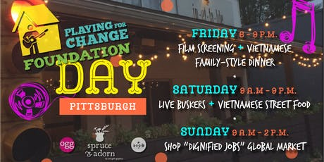 """soundwaves at spruce & adorn : """"Playing for Change 3-Day Festival"""" tickets"""