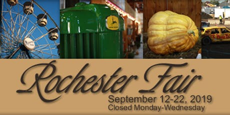 2019 Rochester Fair tickets