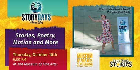 Stories, Poetry, Motion & More tickets
