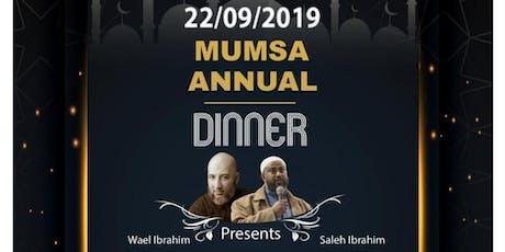 MUMSA Annual Dinner tickets