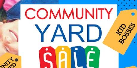 I Am Legacy Kids PTCA Community Yard Sale & Vendor Showcase tickets