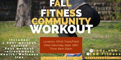 Fall Fitness Community Workout