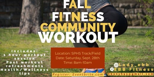 Fall Fitness Community Workout