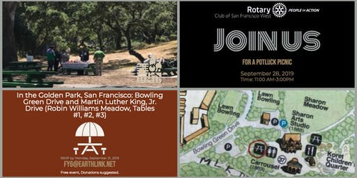 Rotary Club of SF West Potluck/Picnic