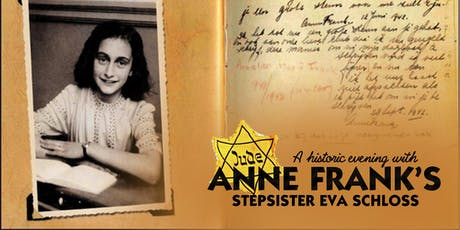 A Historic Evening with Anne Frank's Stepsister tickets
