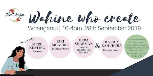 Wāhine  Who Create Whanganui