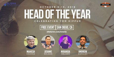 Head of the Year 2019: Celebrating Yom Kippur tickets