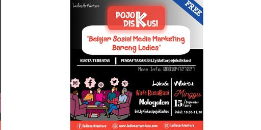 Belajar Social Media Marketing Bareng Ladies