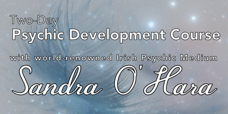 2-day Psychic Dev. Course with World-renowned Psychic Medium Sandra O'Hara tickets