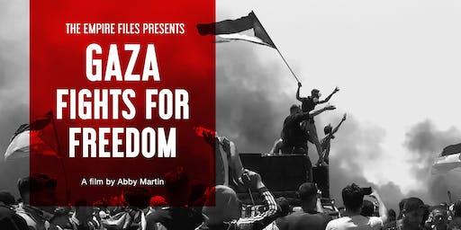 'Gaza Fights For Freedom' ABQ Film Screening w/ Abby Martin Q&A
