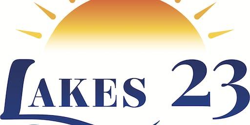 #ThePlaceToBe - The NEW Lakes 23