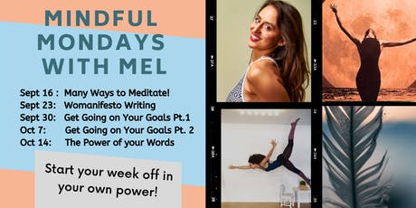 Mindful Mondays with Mel tickets