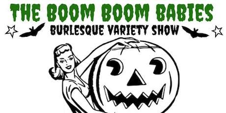 Boom Boom Babies Halloween Burlesque Variety Show tickets