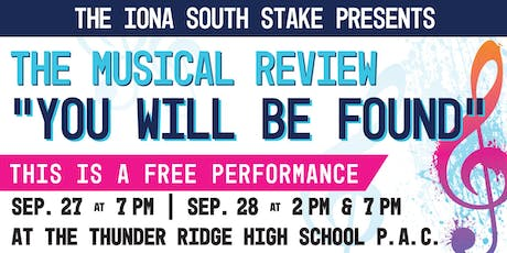 Iona South Stake Musical Review tickets