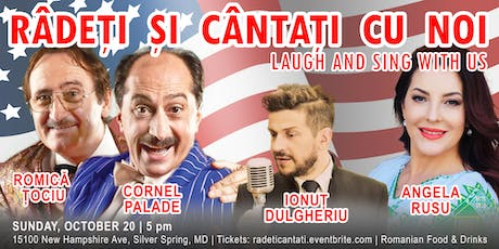 Râdeți și cântați cu noi | Laugh and Sing with Us tickets