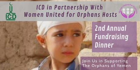 ICD & WUFO: 2nd Annual Fundraising Dinner tickets