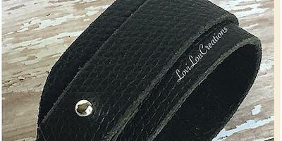 LoviLou Creations Leather Cuff Workshop