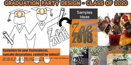 Graduation Design Night - Orange Parents and/or Graduates 2020 tickets