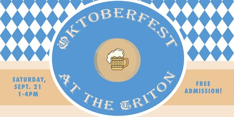 Oktoberfest 2019 @ the Triton Museum tickets