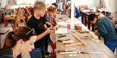 Atelier fabrication d'un banc de méditation en bois billets