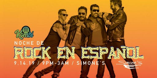 Rock en Español - night at Simone's