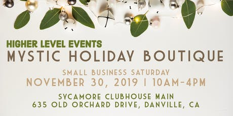 Holiday Mystic Boutique NOV 30 (Small Business Saturday) tickets