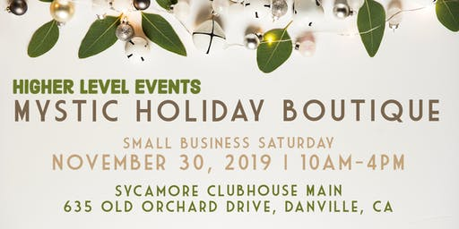 Holiday Mystic Boutique NOV 30 (Small Business Saturday)