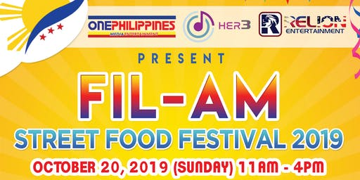 FIL-AM STREET FOOD FESTIVAL 2019
