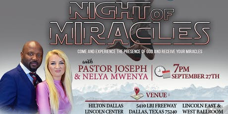 Miracle Night tickets