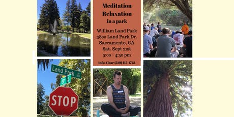 Meditation Relaxation in The Park tickets