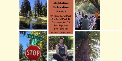 Meditation Relaxation in The Park