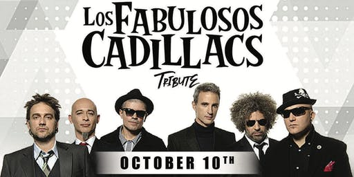 LOS FABULOSOS CADILLACS TRIBUTE @ BLUE MARTINI FT LAUDERDALE THUR OCT 10th
