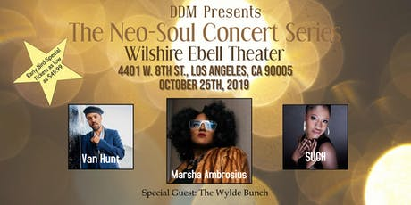Marsha Ambrosius, Van Hunt, SUCH, &  Special Guest The Wylde Bunch tickets