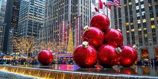 NYC Holiday Bus Trip from Utica 12-14-2019