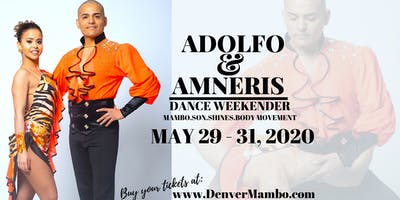 Adolfo and Amneris Dance Weekender